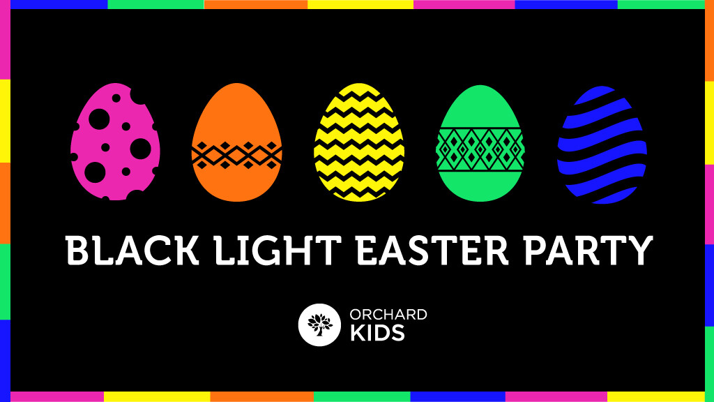 Blacklight Easter Party