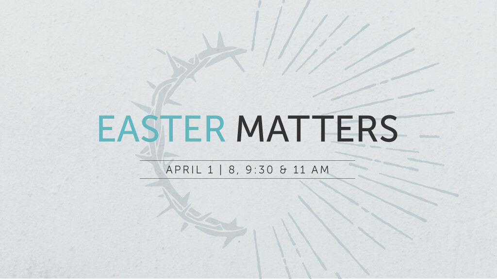 8 am Easter Service
